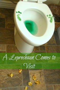 Patrick's Day Prank - How to Lure a Leprechaun fun idea for the kids! st patricks day funny We Lure a Leprechaun and He Pees in the Toilet St Patrick Day Treats, St Patrick Day Activities, Activities For Kids, Group Activities, Holiday Activities, St Patricks Day Essen, St Patricks Day Food, Saint Patricks, St Patricks Day Pictures