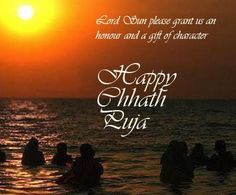 Happy Chhath Puja!  May this Chhath, light up for you. The hopes of Happy times, And dreams for a year full of smiles! Wish you Happy Chhath.  Send Ideal Chhath Puja Gifts to wish your loved ones.  Click here for Pooja Gift Ideas: http://goo.gl/4p4qnD