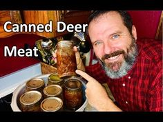 Canning Deer Meat for Preservation - How to Can Deer 🦌 Meat - Teach a Ma. Venison Recipes, Meat Recipes, Yummy Recipes, Yummy Food, Canning Venison, Deer Meat, Home Food, Canning Jars, Preserving Food
