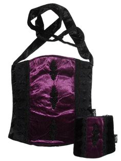 Sale Clearance 40% Off Sinister Gothic Velvet Bag & Purse Goth   BIG SALE NOW ON AT mouseyessim on ebay