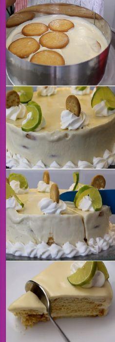 Lemon Recipes, Sweet Recipes, Cake Recipes, Dessert Recipes, No Bake Desserts, Easy Desserts, Crazy Cakes, Dessert Drinks, Sweet Cakes