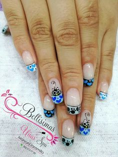 nail designs designs for short nails step by step essie nail stickers nail art sticker stencils nail art stickers online Short Nail Designs, Fall Nail Designs, Cute Nails, Pretty Nails, Owl Nails, Nails For Kids, Short Nails Art, Nail Polish Strips, Essie