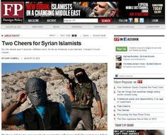 """Two Cheers"" for Terrorism: #US Mainstream #Media Applauds #Syria's Al Qaeda Rebels"