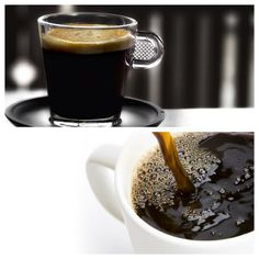 Espresso vs. Brewed Coffee.  Find out the difference between each at www.BunnAtHome.com/blog