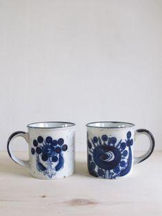 blue fantasy mugs