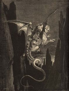 2:Gustave Dore Geryon Gustave Doré's Dramatic Illustrations of Dante's Divine Comedy