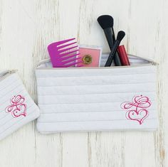 SALE  Was 24.95  Now 16.95  Zipper Bag Set  by LucyLynDesigns