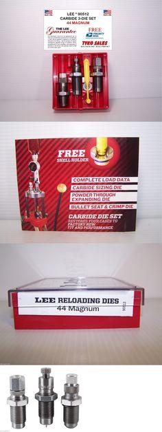 Dies 31825: 90512 * Lee Carbide 3-Die Set * 44 Magnum -> BUY IT NOW ONLY: $33.95 on eBay!