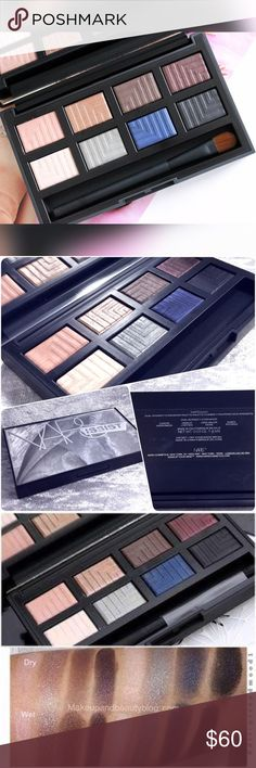 NARSassist Dual Intensity Eyeshadow Palette Now discontinued. 2nd pic is of actual palette for sale. Box and brush not included. Swatched just one color never used. I am clearing out my collection. This is not new but only lightly swatched with sterile brushes to test color. Palette is sanitized by MUA standards. Excellent condition. Save the most by bundling. I offer 25% OFF on bundles of just 2+ items. No trades. I accept Reasonable offers. Negative comments not allowed. NARS Makeup…