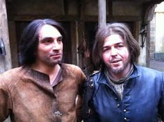 The Musketeers - D'Artagnan and Athos stunt doubles
