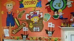 Periodico mural octubre vuestras propuestas (8) Hispanic Heritage Month, Computer Lab, Classroom Decor, Bulletin Boards, Homeschool, Snoopy, Wall Decor, Activities, Education