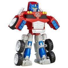 Playskool Heroes Transformers Rescue Bots 2.5 Inch Figure - Optimus Prime #Hasbro
