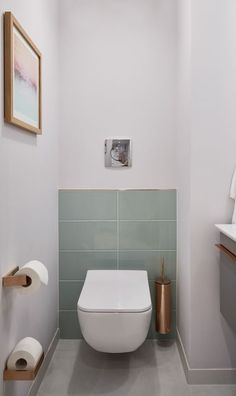 Radisson Blue Frankfurt: Villeroy & Boch has equipped a suite # designweek . - Radisson Blue Frankfurt: Villeroy & Boch has equipped a suite # designweek - Guest Toilet, Small Toilet, Downstairs Toilet, Modern Toilet, Guest Bathrooms, Small Bathroom, Bathroom Ideas, Bathroom Sinks, Bathroom Interior Design