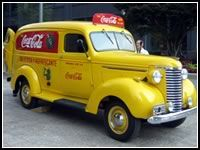 coca cola delivery truck pictures - Google Search