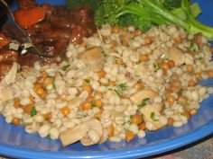 This is a nice side dish to serve as an alternative to rice or potatoes.  Hearty…