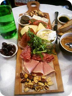Antipasto @ Essenza in Healesville, in the Yarra Valley :-)