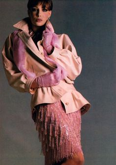 1981 Vogue - Yves Saint Laurent.