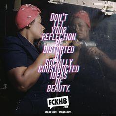 #FCKH8 #FEMINISM #LOVE #SELF #LOVEYOURSELF #FEMINIST