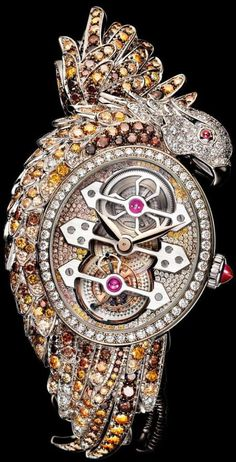 "BOUCHERON -       ""Ladyhawke"" Watch-(2010) Where gorgeous hand-picked vintage pieces become transformed into layers of Individual style,where..."