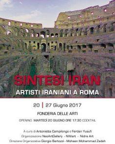 SINTESI+Iran+Artisti+iraniani+a+Roma