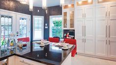 Une cuisine de rêve baignée de lumière | Les idées de ma maison © TVA Publications | Rodolf Noël #deco #cuisine #lumiere