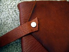Leather Journal ∙ How To by Candice C. on Cut Out + Keep