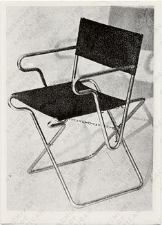 1928 Marcel Breuer folding chair