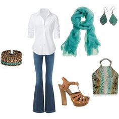 Casual outfit, created by ahguthrie.polyvore.com