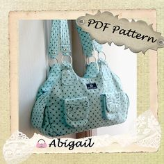 Abigail by ChrisW Designs by ChrisWDesigns, awesome purse patterns and a free one!