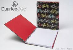 Libreta tamaño carta Stationary Print Bicis