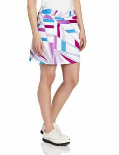 a72b97b6a Amazon.com: adidas Golf Women's Printed Geo Woven Skort, White/Passion  Fruit, 0: Sports & Outdoors