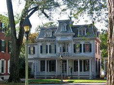 """Historic architecture, The Green, Dover, Delaware"" From Paul McClure"