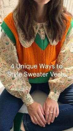 Outfits Otoño, Fall Outfits, Fashion Outfits, Winter Outfits For Work, Vintage Sweaters, Fashion Killa, Aesthetic Clothes, Autumn Fashion, Style Inspiration