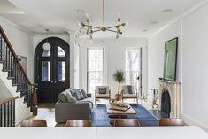 Living room with modern furnishings