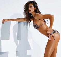 Bikini a triangolo Calzedonia stampa animalier mod Ketty