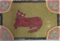 folky red cat