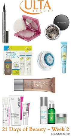 Ulta 21 days of Beauty - Week 2 deals via @beautytidbits