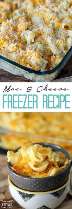 Easy Freezer Mac & Cheese