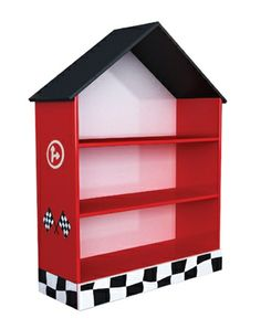 Talladega Bookcase (Red)