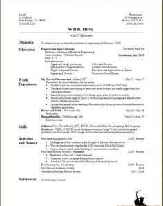 resume examples: basic resume examples basic resume outline sample ... - Examples Of Well Written Resumes