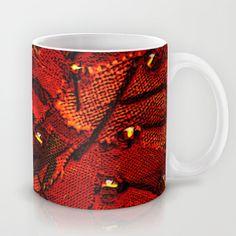 Orange Tree Mug by Bozena Wojtaszek  - $15.00