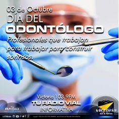 #Actualidad El 3 de octubre se celebrael Día del Odontólogo en Venezuela en homenaje a quienes cuidan de la salud dental de la población. Esta fecha fue fijada en recordatorio a la fundación de la Federación Odontológica Latinoamericana (FOLA), el 3 de octubre de 1917.