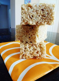 Christine's Kitchen Chronicles: Salted Browned Butter Rice Crispy Treats