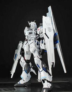 Custom Build: MG 1/100 nu Gundam Ver. Ka - Gundam Kits Collection News and Reviews