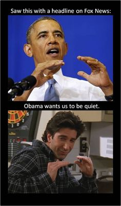 "What Obama's doing here. | 31 Things Only ""Friends"" Fans Will Appreciate"