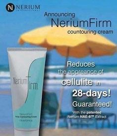 Summer is coming up fast and furious! Are you ready for your swim suit? Nerium Firm can get you ready! Order and check out the other 2 products Nerium has to offer: www.angienelson.nerium.com