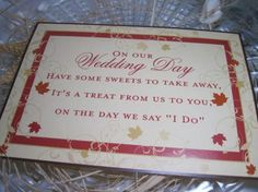 Fall Wedding Reception Candy Buffet or Candy by iDoArtsyWeddings, $5.50