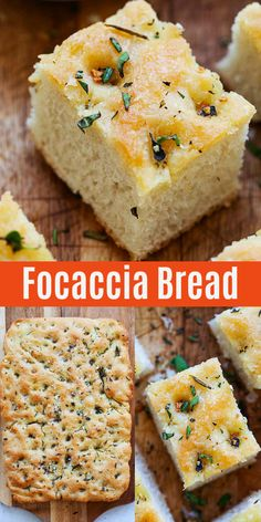 Homemade focaccia bread recipe that is crazy easy no kneading and yields delicious soft and fluffy focaccia the best and most authentic recipe ever rasamalaysia com sidedish bread italianfood baking homemade white bread Artisan Bread Recipes, Bread Machine Recipes, Easy Bread Recipes, Baking Recipes, Baking Breads, Homemade Focaccia Bread, Focaccia Recipe, Focaccia Bread Recipe Bread Machine, Chibatta Bread Recipe