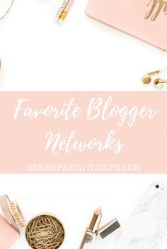 Making a little extra cash off your blog  is always fun so today I'm sharing my favorite blogger networks so you can monetize your blog in style.