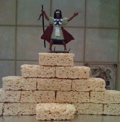 Tell the story of Jericho with Rice Krispie treats. They'll never forget it!